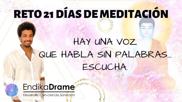 reto 21 dias de meditacion