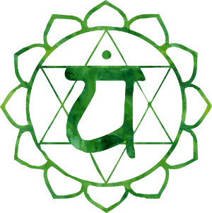 cuarto chakra anahata corazon verde