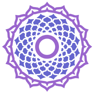 séptimo chakra corona sahasrara violeta