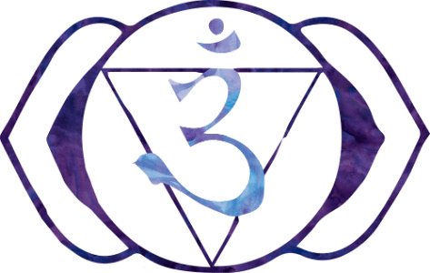 sexto chakra ajna tercer ojo indigo morado