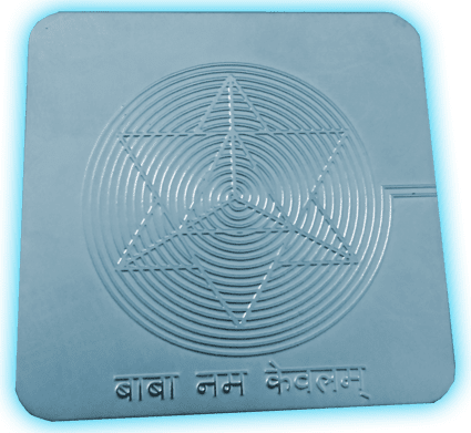 tarjeta de geometria sagrada merkaba
